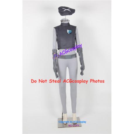 Pokemon Team Plasma Female Grunt Cosplay Costume Black and White version