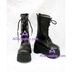 Fate stay night Saber Plain clothes cosplay shoes boots with thick soles
