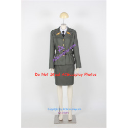 Marvel Comics Captian America The First Avenger cosplay Peggy Carter Cosplay Costume