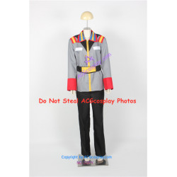 Gundam Mobile Suit Gundam 0096 Earth Federal Military Uniform Cosplay Costume