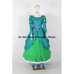 Disney The Little Mermaid Ariel princess dress Cosplay Costume