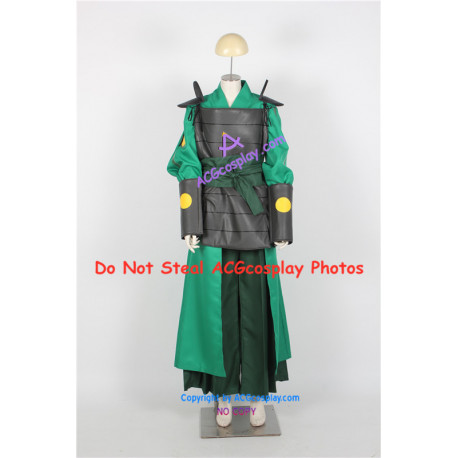 Avatar The Last Airbender Kyoshi Warriors Cosplay Costume include shoulder armor