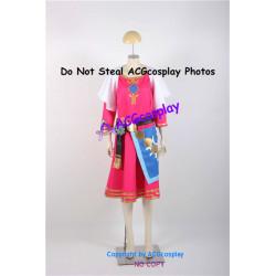 Legend of Zelda Skyward Sword Princess Zelda Cosplay Costume