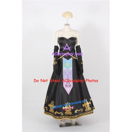Legend of Zelda Twilight Princess Zelda Cosplay Costume