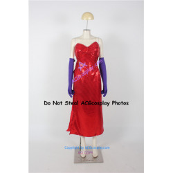 Disney Who Framed Roger Rabbit Jessica Rabbit Cosplay Costume