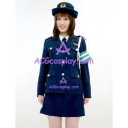 Uniform temptation  navy blue cosplay costume