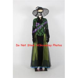 Disney Cinderella 2015 Stepmother Lady Tremaine Cosplay Costume