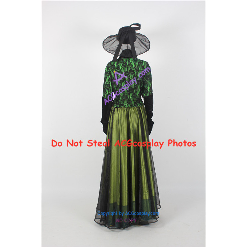 Lady Tremaine Cinderella Stepmother Costume Dress Gown Size Choice @