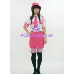 Uniform temptation  pink cosplay costume