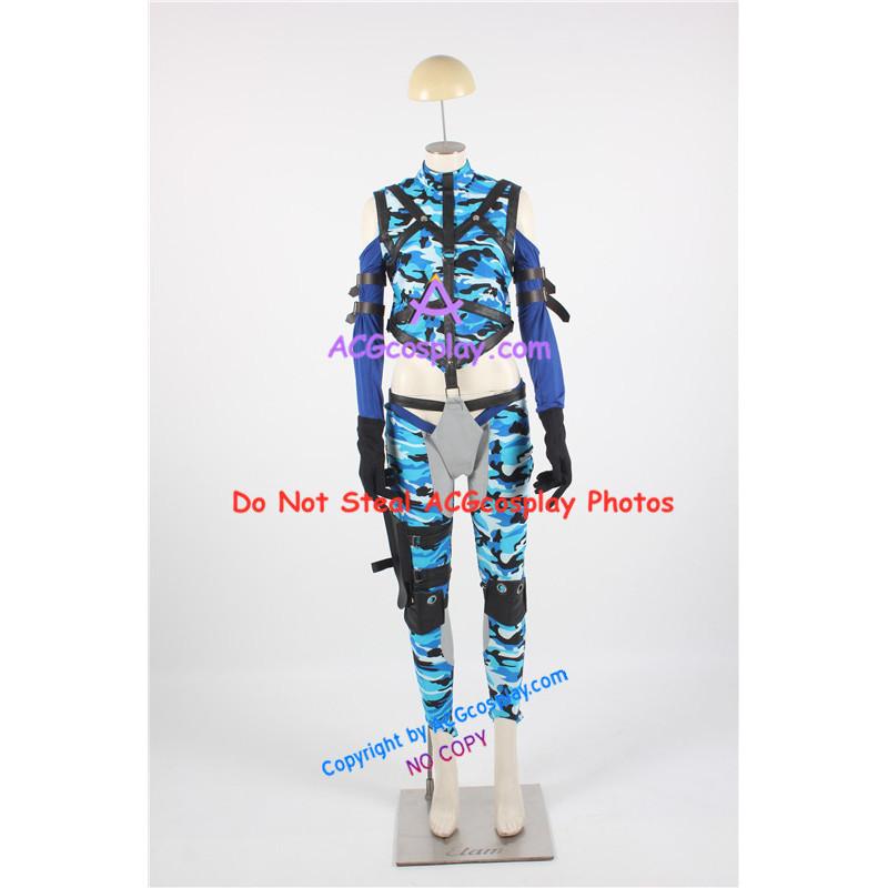 Death By Degrees Tekken Nina Williams Cosplay Costume Version 01