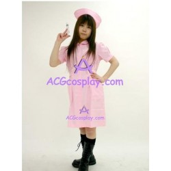 Uniform temptation  pink nurse dress cosplay costume