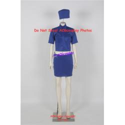 Fifth Element flight attendant cosplay costume