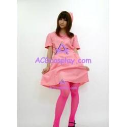 Uniform temptation  red nurse dress cosplay costume
