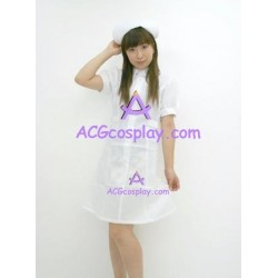 Uniform temptation  white nurse dress cosplay costume