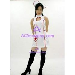 Uniform temptation beautiful nurse cosplay costume