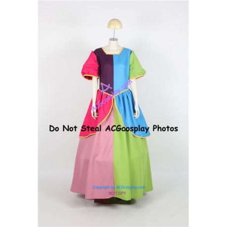Disney Cinderella Sisters Split Cosplay Costume