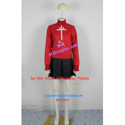 Fate Stay Night Tosaka Rin cosplay costume