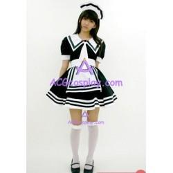 Uniform temptation black maid dress cosplay costume