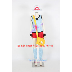 Pokemon Leaf Cosplay Costume include big bag cosplay