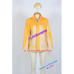 Tensou Sentai Goseiger Moune Gosei Yellow Cosplay Costume Jacket cosplay