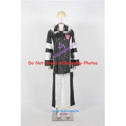 Katekyo Hitman Reborn Flan Cosplay Costume faux leather made cosplay