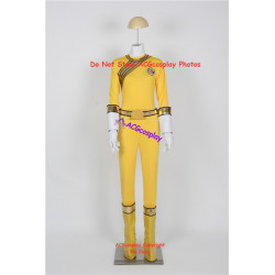 Power rangers Taylor yellow wild force ranger cosplay costume