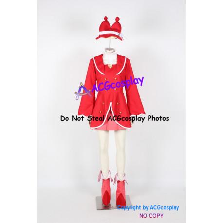 Fushigi boshi No Futago Hime Gyu Fine red Cosplay Costume
