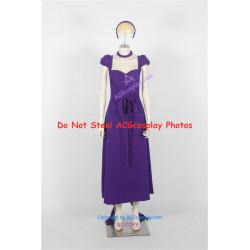 Vampire Knight Yuuki Cross Dress Cosplay Costume Version purple dress