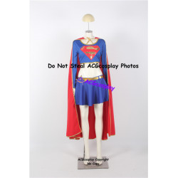 DC Comic Supergirl Kara Cosplay Costume