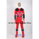 Power Rangers Time Force Quantum Ranger Cosplay Costume WITHOUT boots covers and cuffs