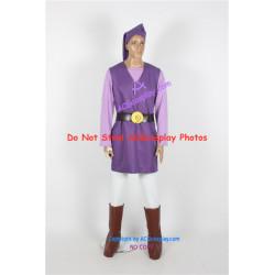 Legend of Zelda Toon Link Cosplay Costume purple version cosplay