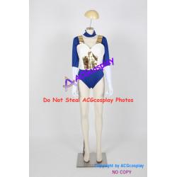 Dragon Ball Z Vegeta cosplay costume female version include stockings