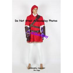 Legend of Zelda Red Link Cosplay Costume