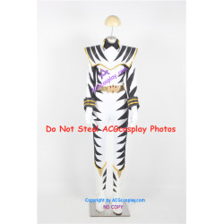 Power Rangers Dino Thunder White Dino Ranger Cosplay Costume and Real Boots