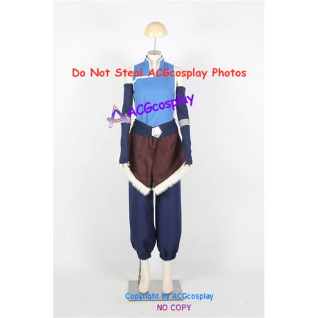 Avatar The Last Airbender Korra Cosplay Costume
