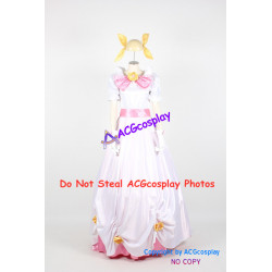 Wedding Peach Momoko Hanasaki White Uniform Cosplay Costume