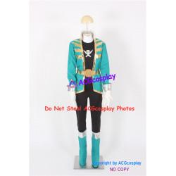 Kaizoku Sentai Gokaiger Don Dogoier Gokai Green Cosplay Costume
