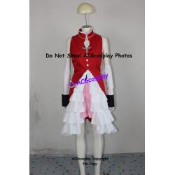 Puella Magi Madoka Magica Kyoko Sakura Cosplay Costume