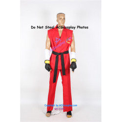 Tekken 6 Paul Phoenix Cosplay Costume