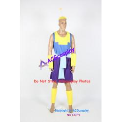 Disney Emperor's New Groove Kronk Cosplay Costume
