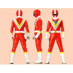 Gaku Honshikawa five red cosplay costume and cosplay boots