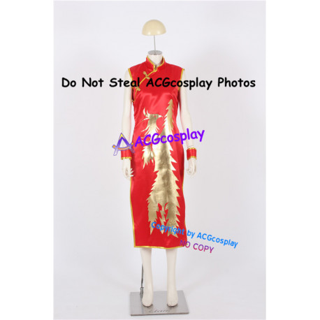 Dead or Alive Lei Fang Cosplay Costume