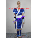 Dead or Alive kasumi Cosplay Costume blue color