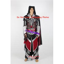 Assassins's Creed II Ezio Auditore Da Firenze Cosplay Costume version 08
