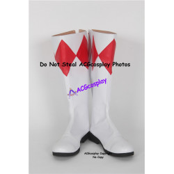 Power Rangers Red Ranger Cosplay boots cosplay shoes