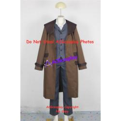 Fullmetal Alchemist Edward Elric brown cosplay costume