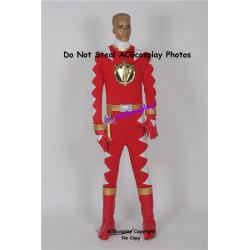 Power rangers Dino thunder red ranger Red Dino Ranger cosplay costume