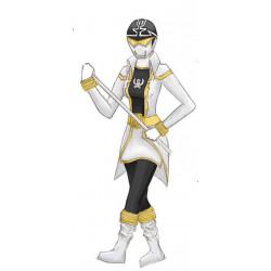 Gokai Silver ranger cosplay costume female version
