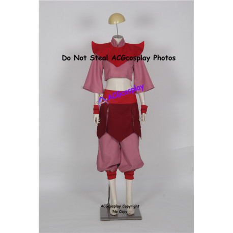 Avatar The Last Airbender Cosplay Ty Lee Cosplay Costume