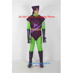 Marvel Comics Spider Man Green Goblin Cosplay Costume and real boots commission request